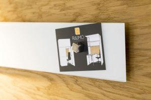 Beschreibbare Magnetleiste aus Glas